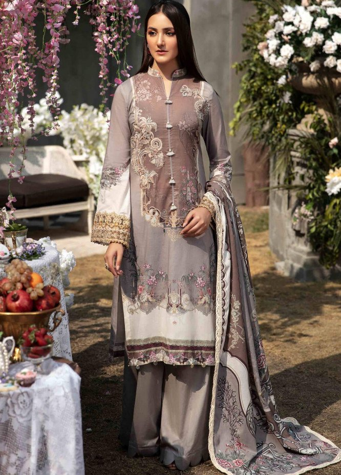 Umang by Motifz Embroidered Lawn Suits Unstitched 3 Piece MT21LU 2819 Botanical Garden - Summer Collection