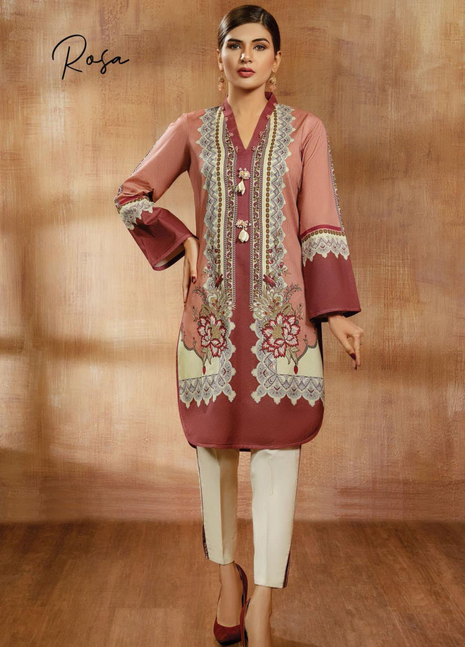 Viva Prints by Anaya Printed Lawn Suits Unstitched 2 Piece AK21V VP-05 ROSA - Summer Collection