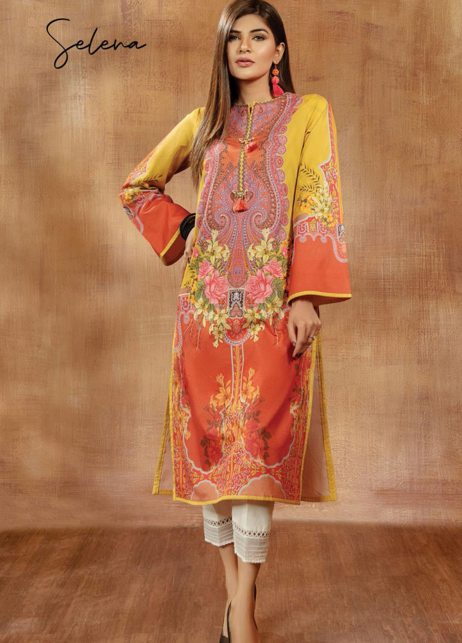 Viva Prints by Anaya Printed Lawn Suits Unstitched 2 Piece AK21V VP-06 SELENA - Summer Collection
