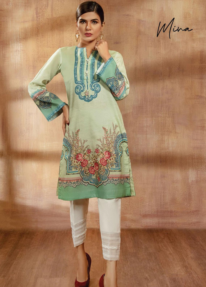 Viva Prints by Anaya Printed Lawn Suits Unstitched 2 Piece AK21V VP-07 MINA - Summer Collection