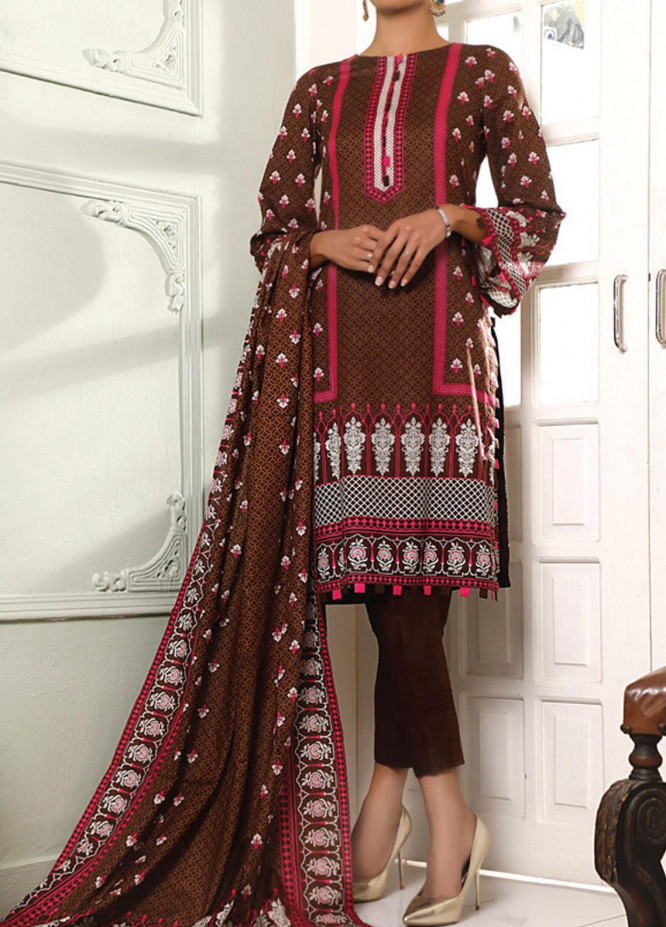 VS Textiles Printed Lawn Suits Unstitched 3 Piece VS21S 2620B - Summer Collection