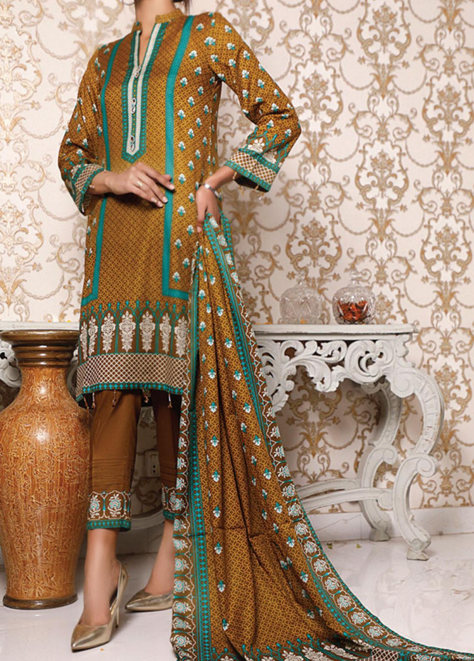 VS Textiles Printed Lawn Suits Unstitched 3 Piece VS21S 2620C - Summer Collection