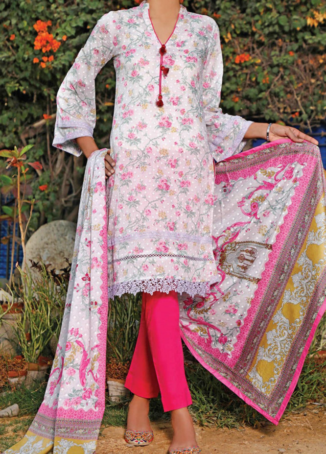VS Textiles Printed Lawn Suits Unstitched 3 Piece VS21S-2 2617-A - Summer Collection