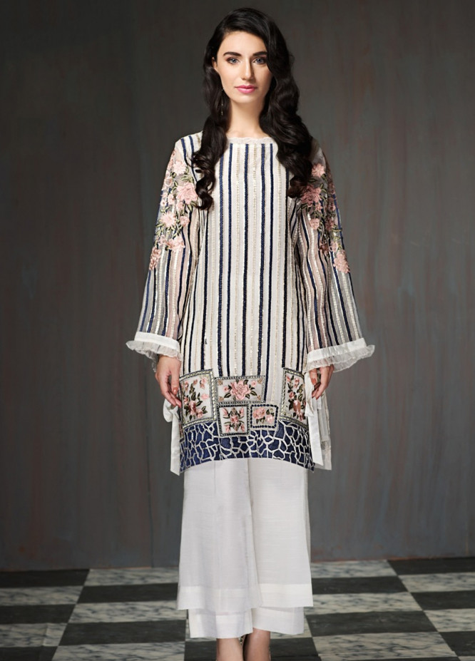 Xenia Embroidered  Stitched Kurtis XE18P 5A