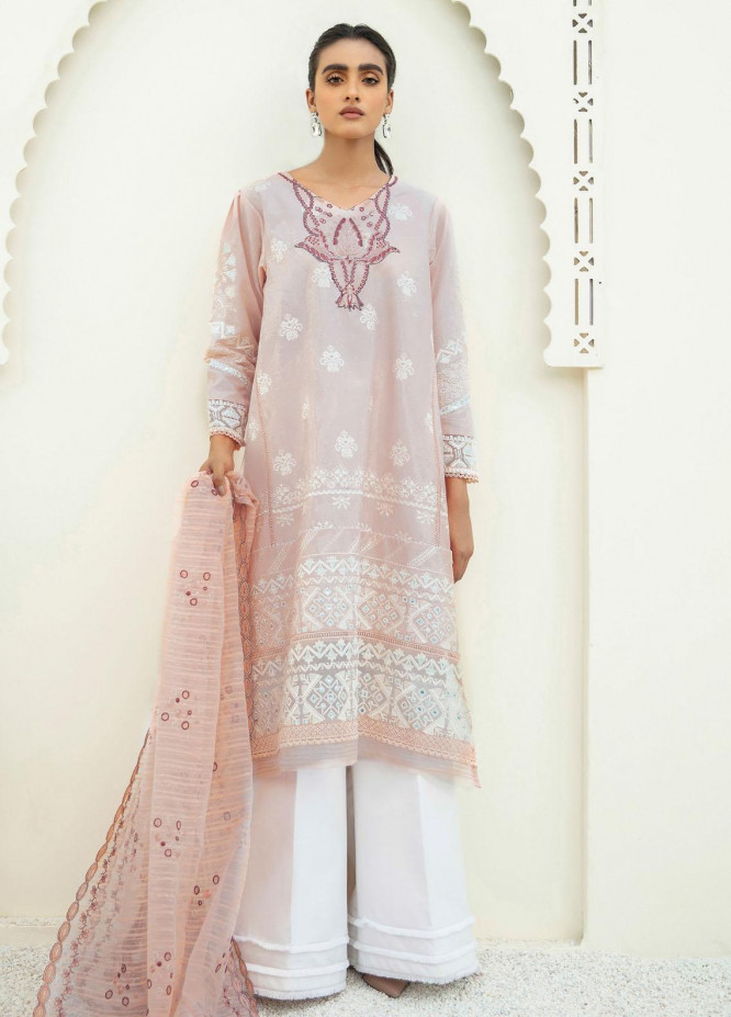 Xenia Formals Embroidered Lawn Suits Unstitched 3 Piece XE21M D-06 SAWERA - Summer Collection