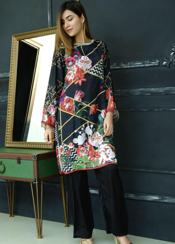 Yusra Ansari Fancy Silk Stitched Kurti YA20EG Yn-01 (Gohar-e-Nayab)