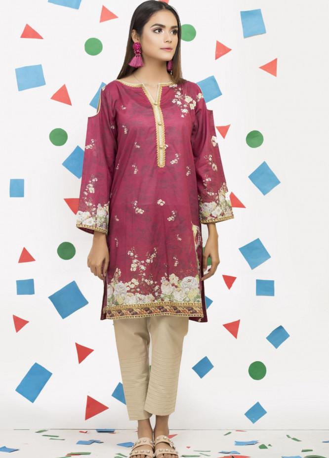 Yusra Ansari Fancy Lawn Stitched Kurti YA20M Ye-07 (Royal Affairs)