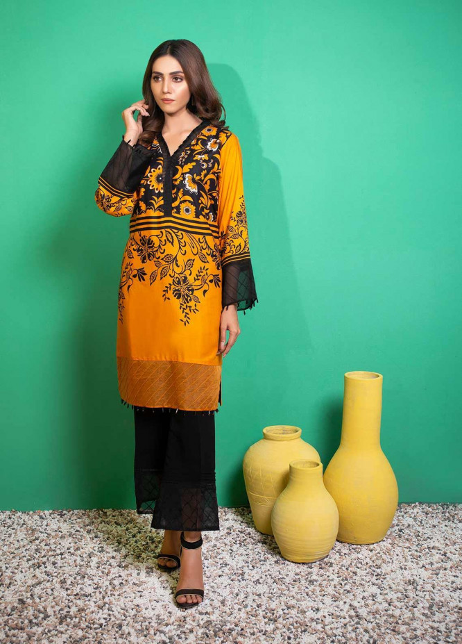 Yusra Ansari Printed Linen Stitched 2 Piece Suit YA20WS Riona-Ywi-03