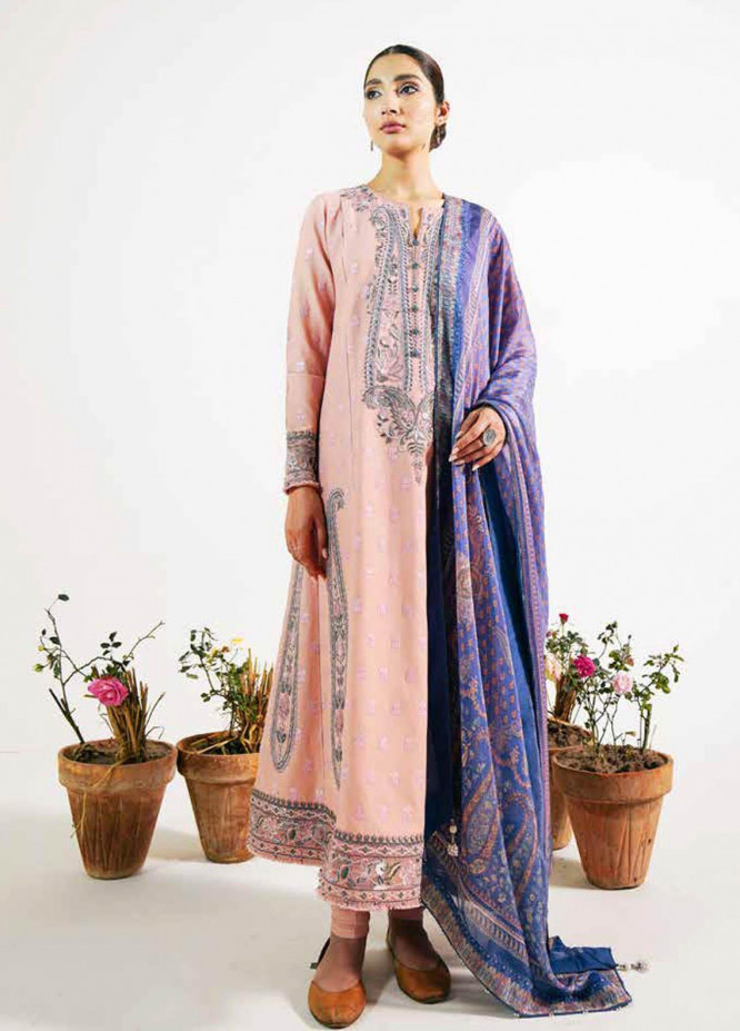 Zara Shahjahan Embroidered Lawn Suits Unstitched 3 Piece ZS21L 09 Sassi-A - Summer Collection