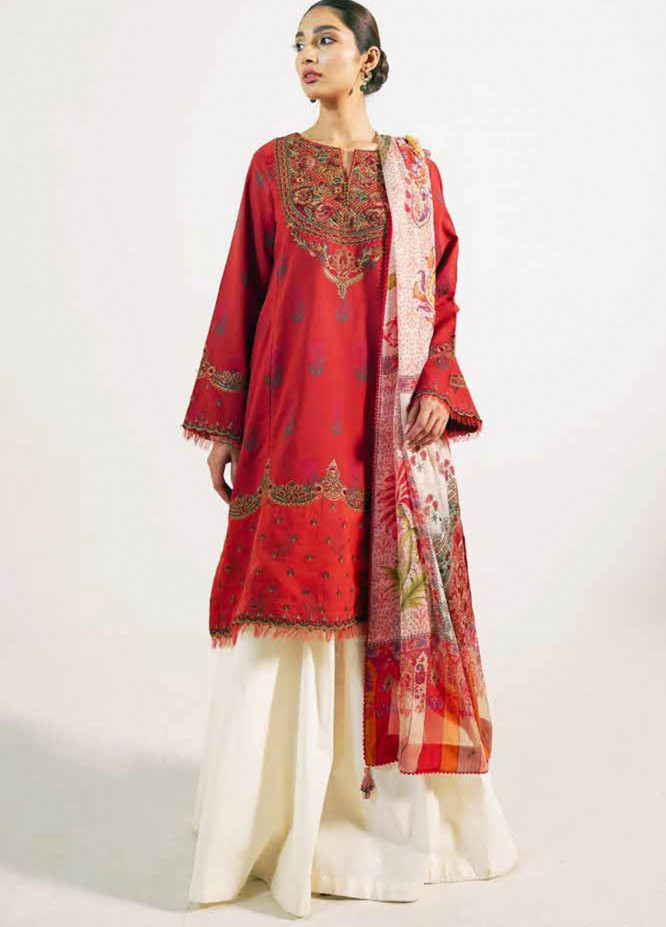 Zara Shahjahan Embroidered Lawn Suits Unstitched 3 Piece ZS21L 19 Preet-A - Summer Collection