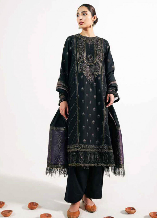 Zara Shahjahan Embroidered Lawn Suits Unstitched 3 Piece ZS21L 30 Noori-B - Summer Collection