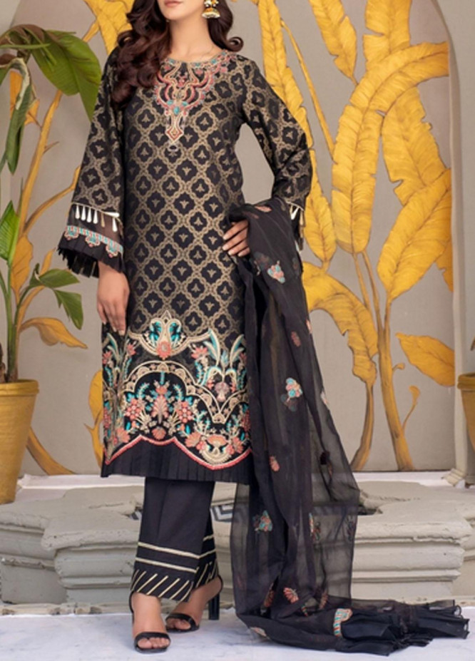 Zeenat by Mohagni Embroidered Lawn Suits Unstitched 3 Piece MO21ZL SJD-21-02 - Summer Collection