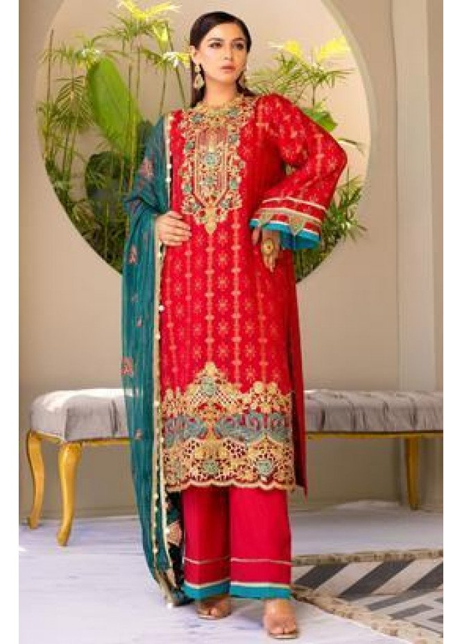 Zeenat by Mohagni Embroidered Lawn Suits Unstitched 3 Piece MO21ZL SJD-21-06 - Summer Collection