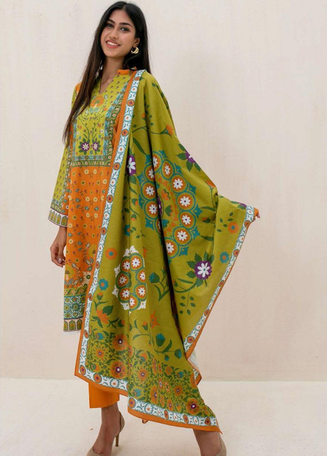 Zellbury Printed Cambric Suits Unstitched 3 Piece ZL21CB WUC21X30022 - Winter Collection