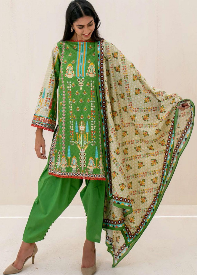 Zellbury Printed Cambric Suits Unstitched 3 Piece ZL21CB WUC21X30027 - Winter Collection