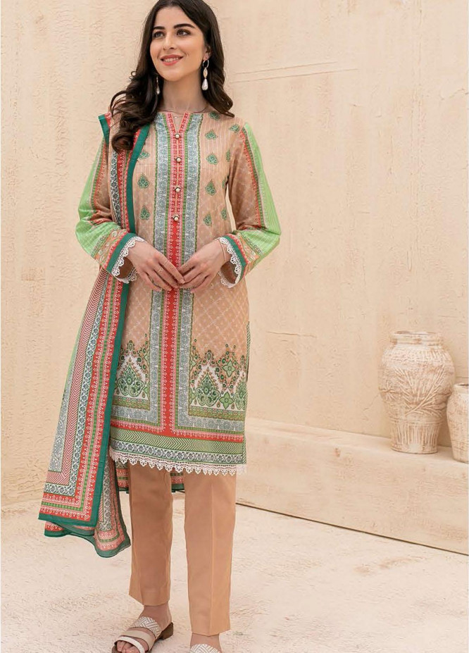 Zellbury Printed Cambric Suits Unstitched 3 Piece ZL21CB WUC21X30032 - Winter Collection