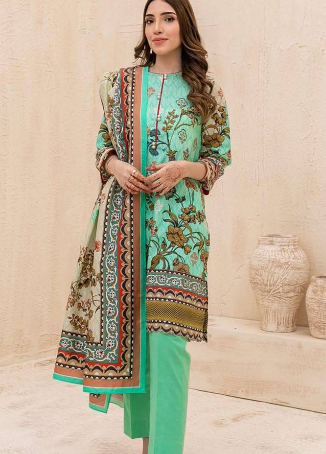 Zellbury Printed Cambric Suits Unstitched 3 Piece ZL21CB WUC21X30037 - Winter Collection