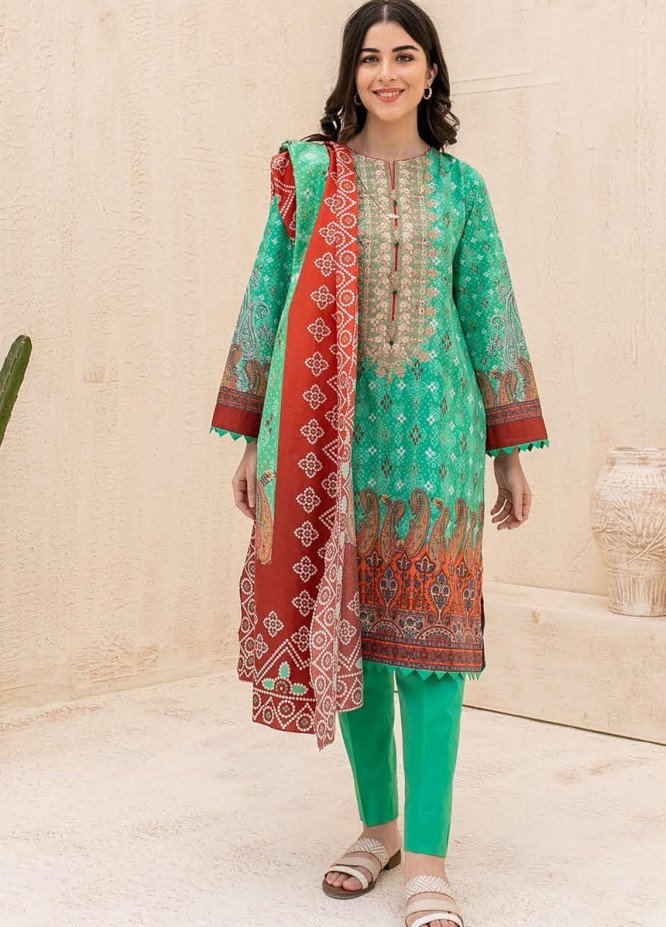 Zellbury Embroidered Cambric Suits Unstitched 3 Piece ZL21CB WUC21E30054 - Winter Collection