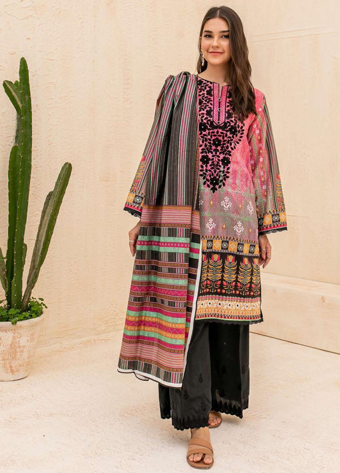 Zellbury Embroidered Cambric Suits Unstitched 3 Piece ZL21CB WUC21E30055 - Winter Collection