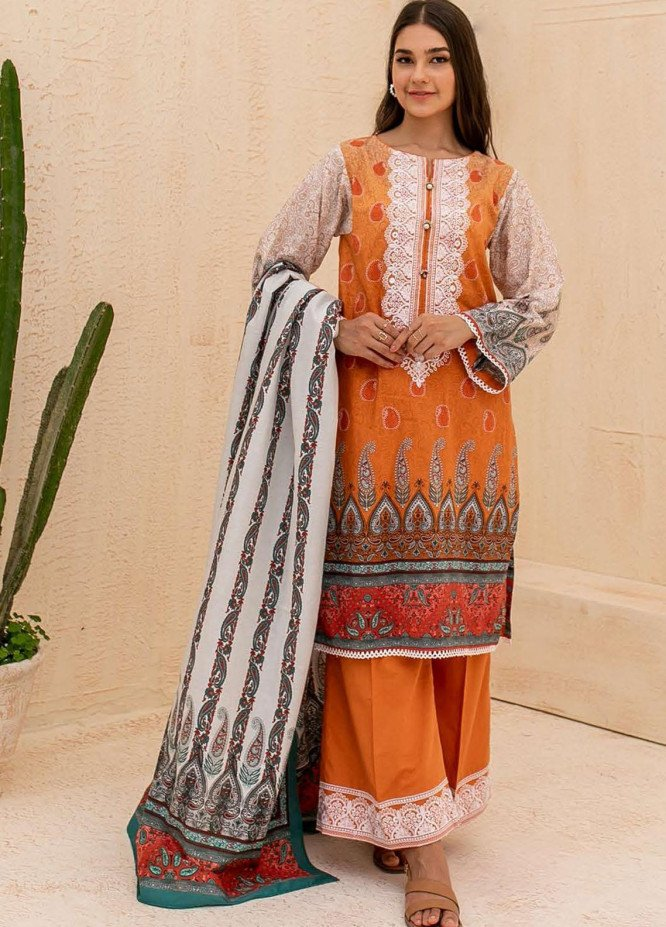Zellbury Embroidered Cambric Suits Unstitched 3 Piece ZL21CB WUC21E30059 - Winter Collection