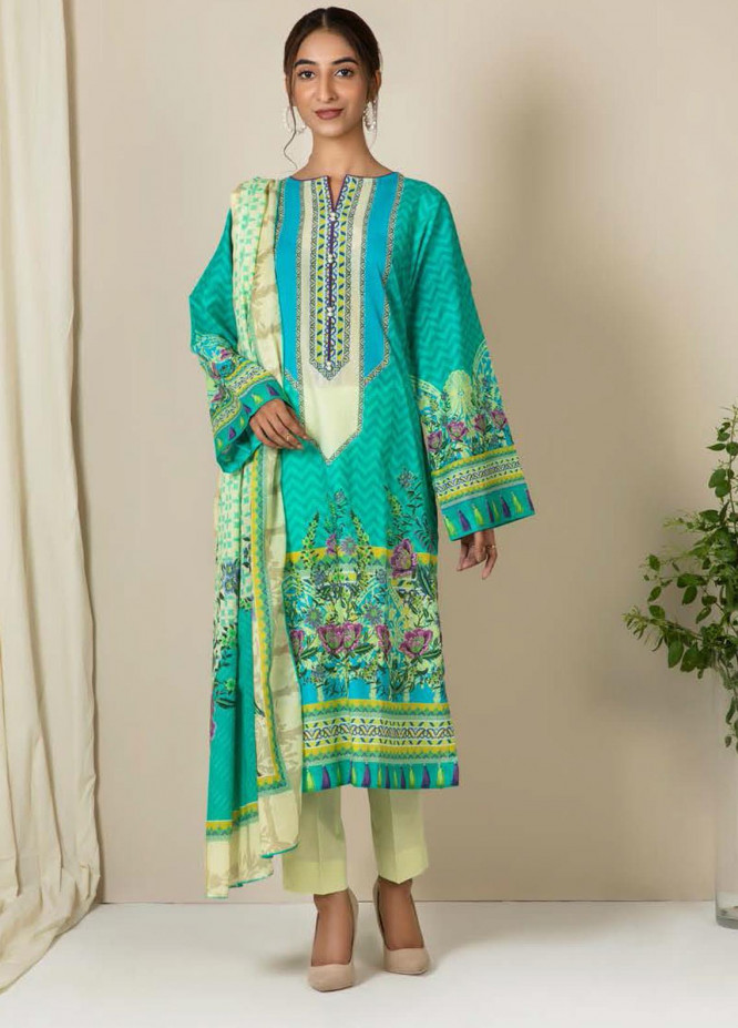 Zellbury Printed Lawn Suits Unstitched 2 Piece ZB21L-2 Wusc 733 - Summer Collection