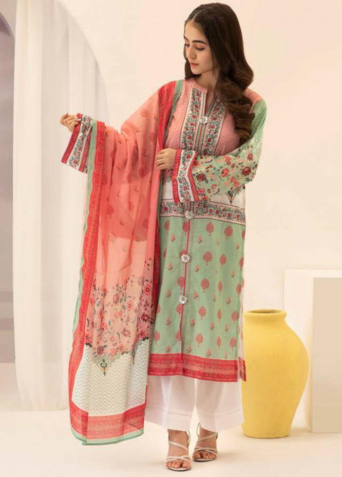 Zellbury Printed Lawn Suits Unstitched 2 Piece ZB21L-2 Wusc 744 - Summer Collection