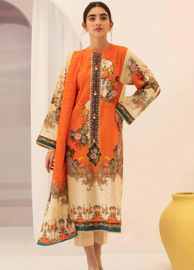 Zellbury Printed Lawn Suits Unstitched 2 Piece ZB21L-2 Wusc 745 - Summer Collection
