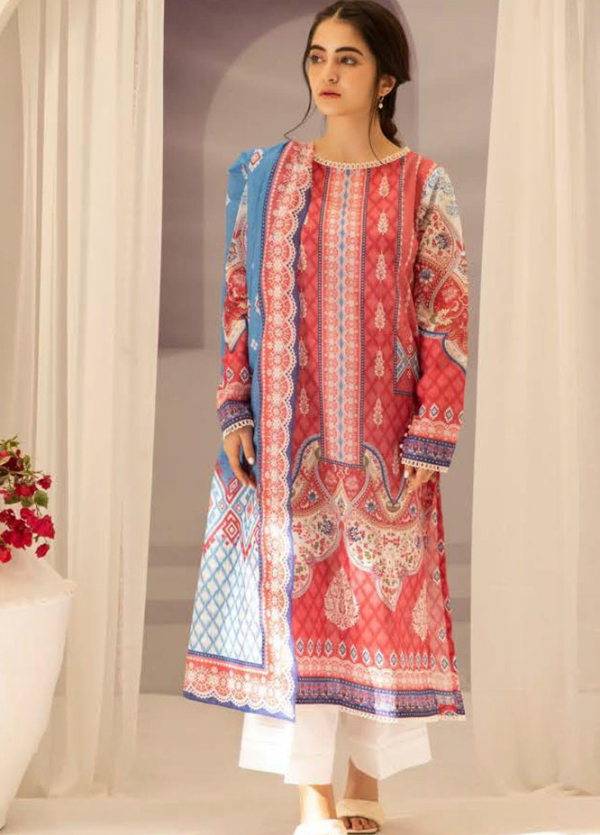 Zellbury Printed Lawn Suits Unstitched 3 Piece ZB21L-2 Wusc 831 - Summer Collection