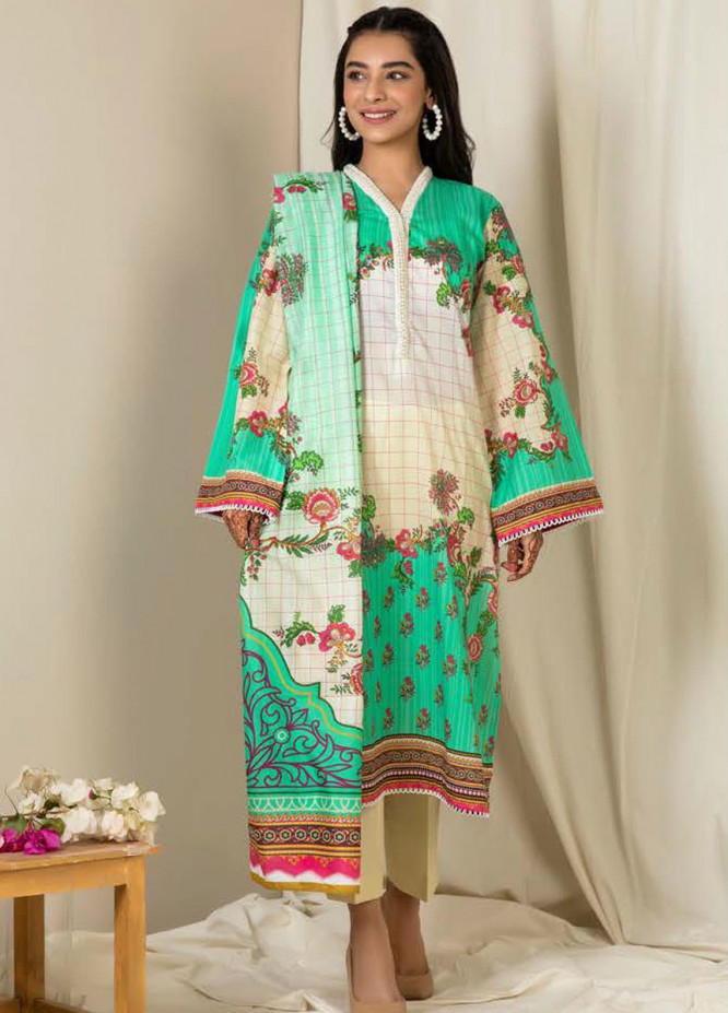 Zellbury Printed Lawn Suits Unstitched 3 Piece ZB21L-2 Wusc 850 - Summer Collection