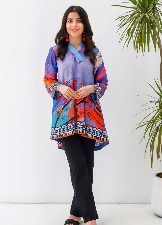 Zellbury Printed Lawn  Unstitched Kurties ZB21L-2 Wusc 898 - Summer Collection