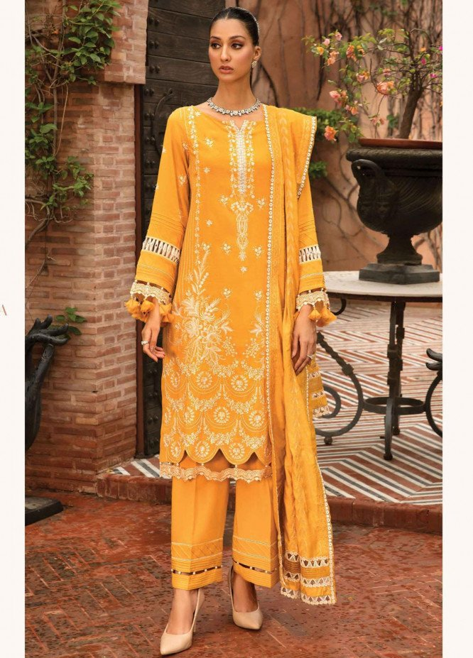 Zinnia by Rang Rasiya Embroidered Dobby Linen Suits Unstitched 3 Piece RR21ZN OSLO-07 - Winter Collection