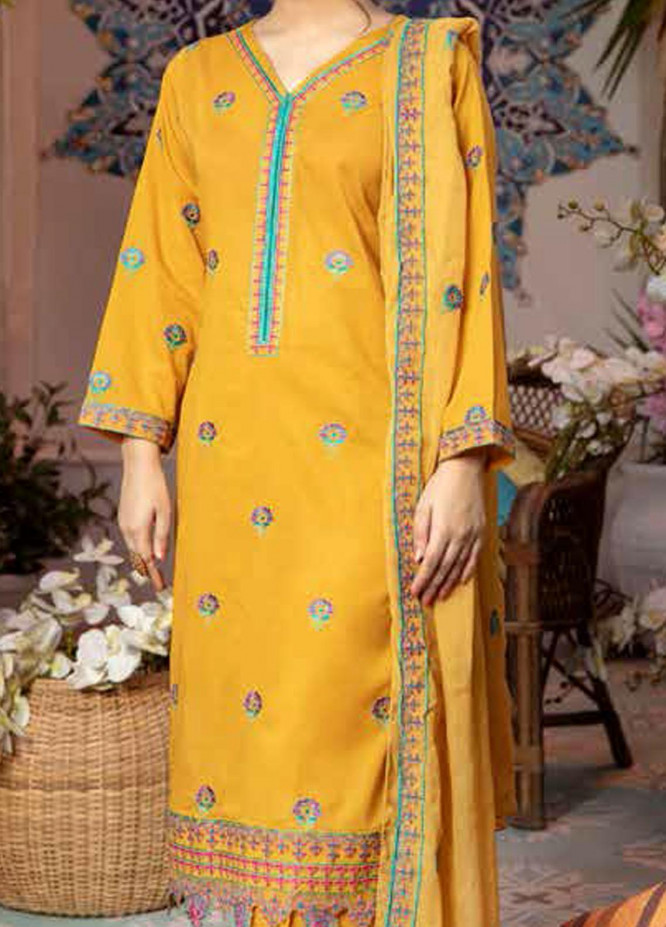 Zoha by Aymen Baloch Embroidered Lawn Suits Unstitched 3 Piece ZAB21FP 097 - Festive Collection