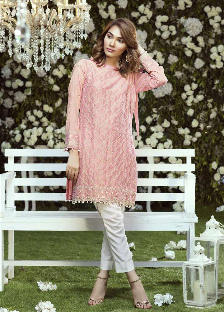 Anahi by Gulaal Embroidered Cotton Net Stitched Kurtis GLP17K 6B