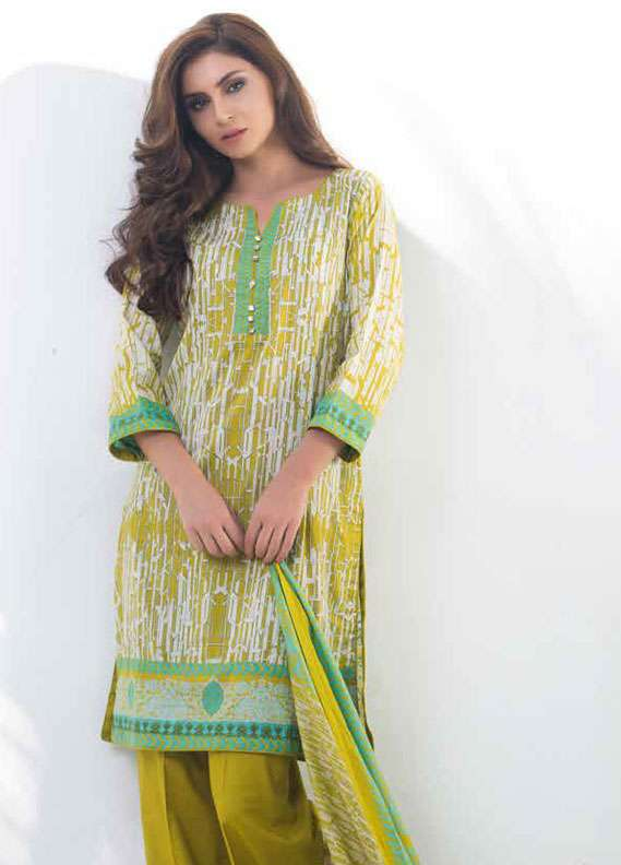 Al Zohaib Printed Lawn Unstitched 3 Piece Suit MN18L 3B - Spring / Summer Collection