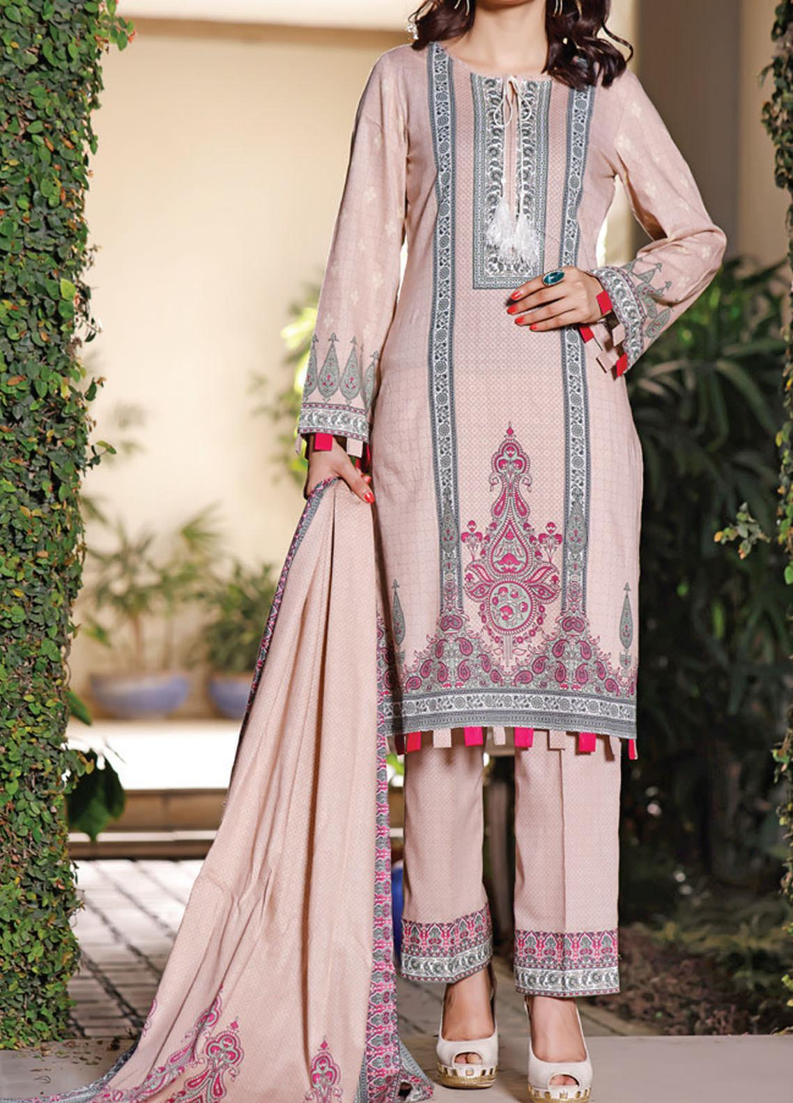 Daman by VS Textiles Printed Lawn Suits Unstitched 3 Piece VS21DL-3 1328B - Summer Collection
