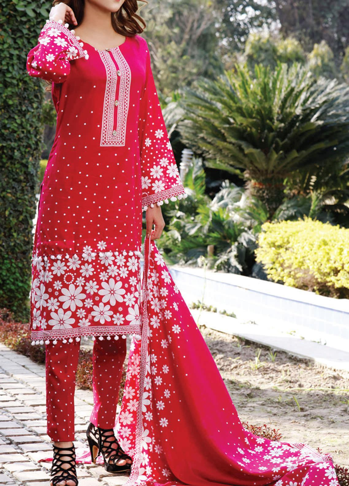 Daman by VS Textiles Printed Lawn Suits Unstitched 3 Piece VS21DL-3 1329A - Summer Collection