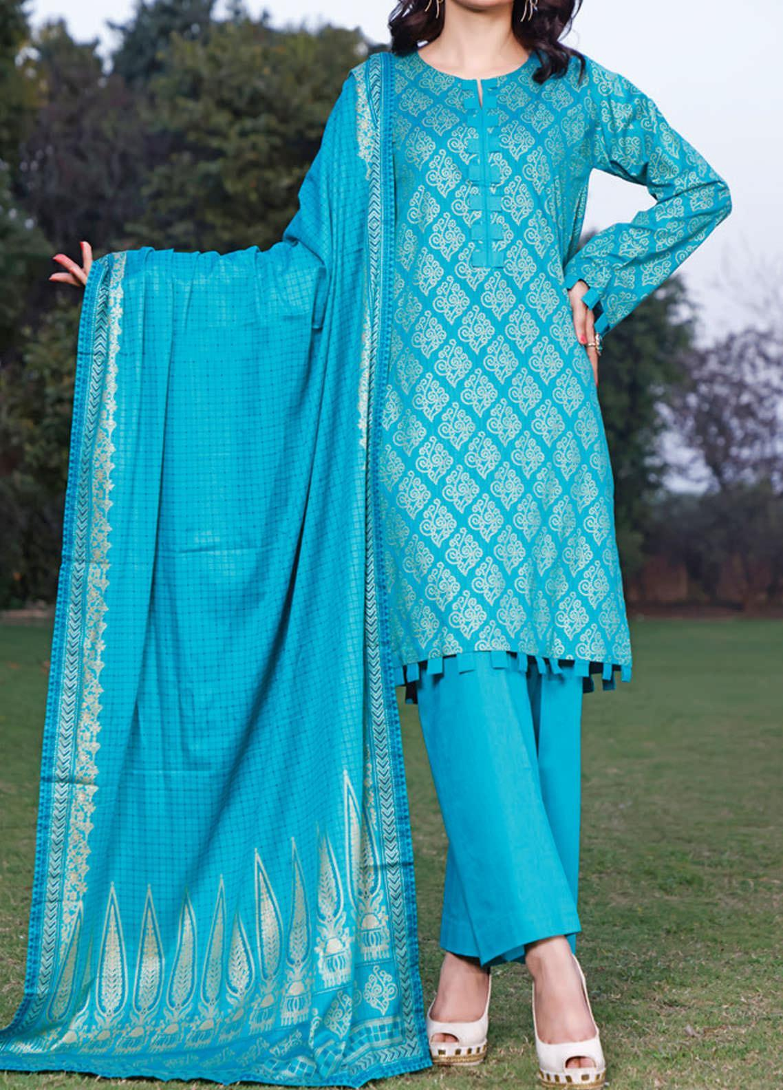 Daman by VS Textiles Printed Lawn Suits Unstitched 3 Piece VS21DL-3 1330A - Summer Collection