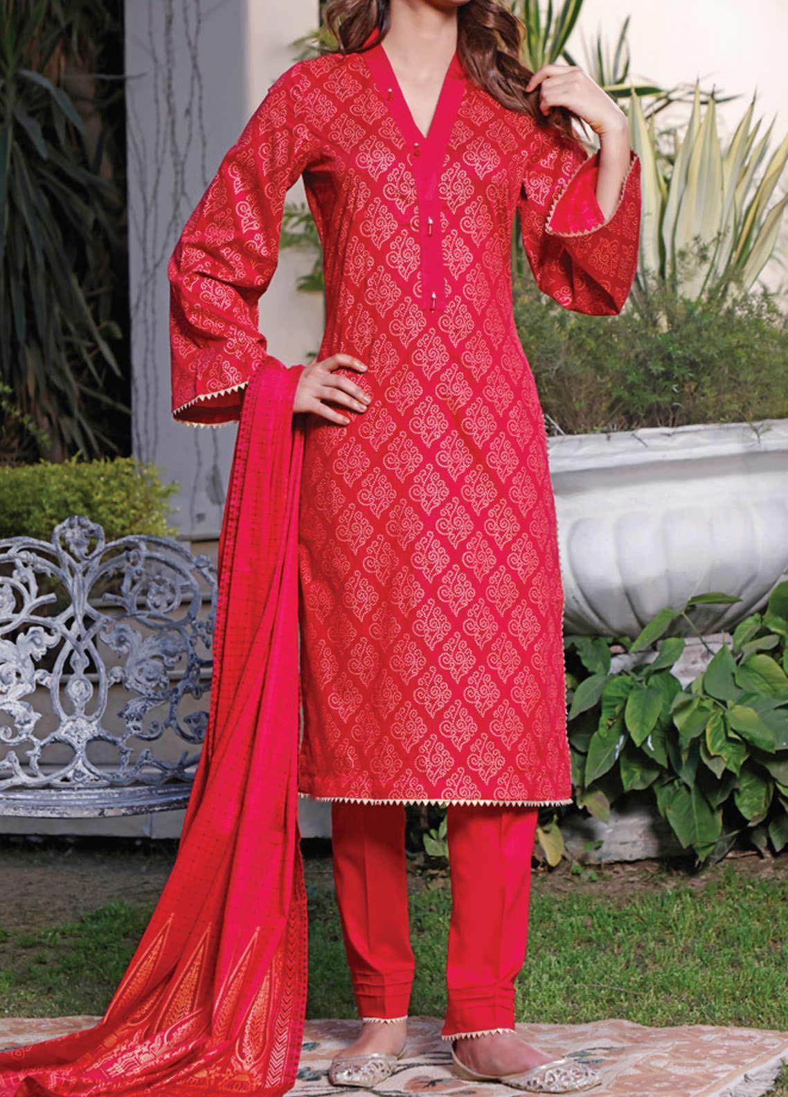Daman by VS Textiles Printed Lawn Suits Unstitched 3 Piece VS21DL-3 1330B - Summer Collection