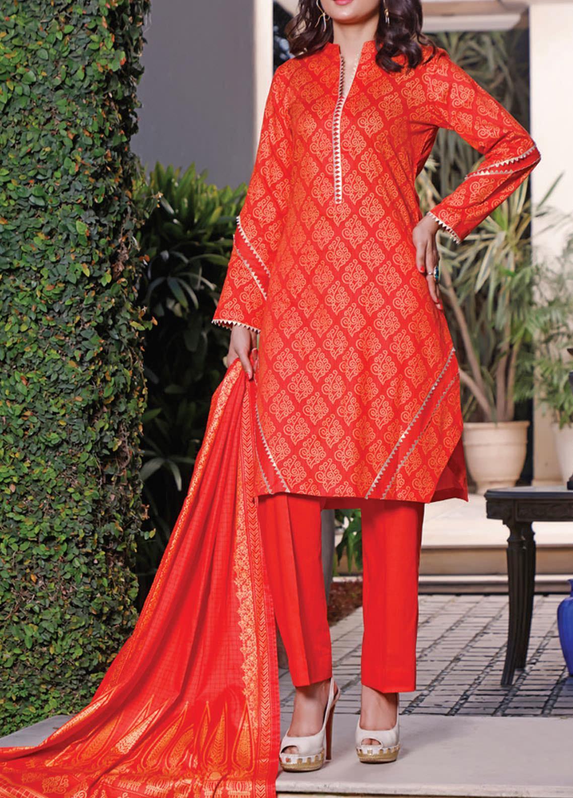 Daman by VS Textiles Printed Lawn Suits Unstitched 3 Piece VS21DL-3 1330C - Summer Collection