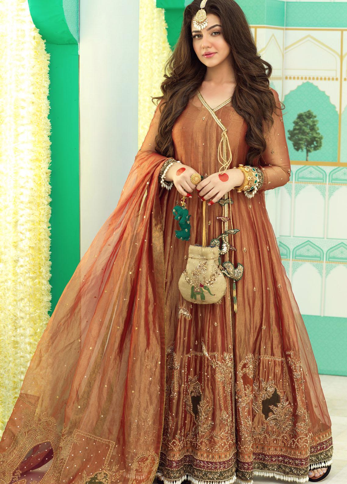 Zaaviay Luxury Pret Embroidered Missouri 3 Piece Dress MADHANIYA