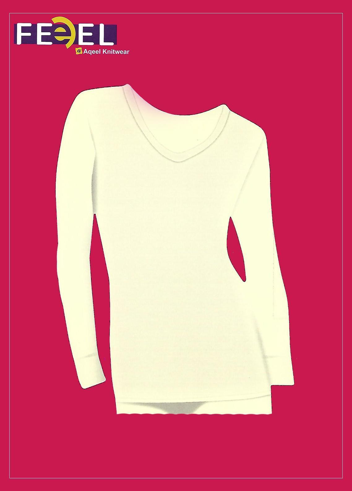 Feel Inner Wear Jersey Body Warmer Sando 2 Fawn Color