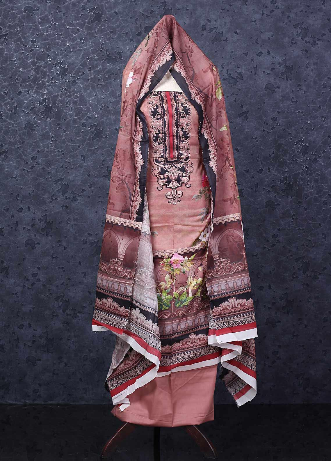 Firdous Fashion Printed Lawn Unstitched 3 Piece Suit FR20D 1116A - Spring / Summer Collection