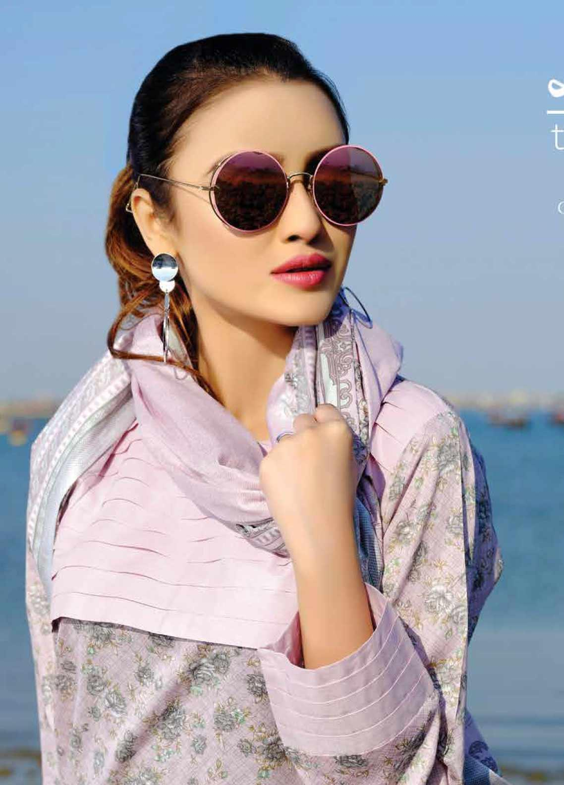 Five Star Printed Lawn Unstitched 3 Piece Suit FS20C 1003B - Spring / Summer Collection