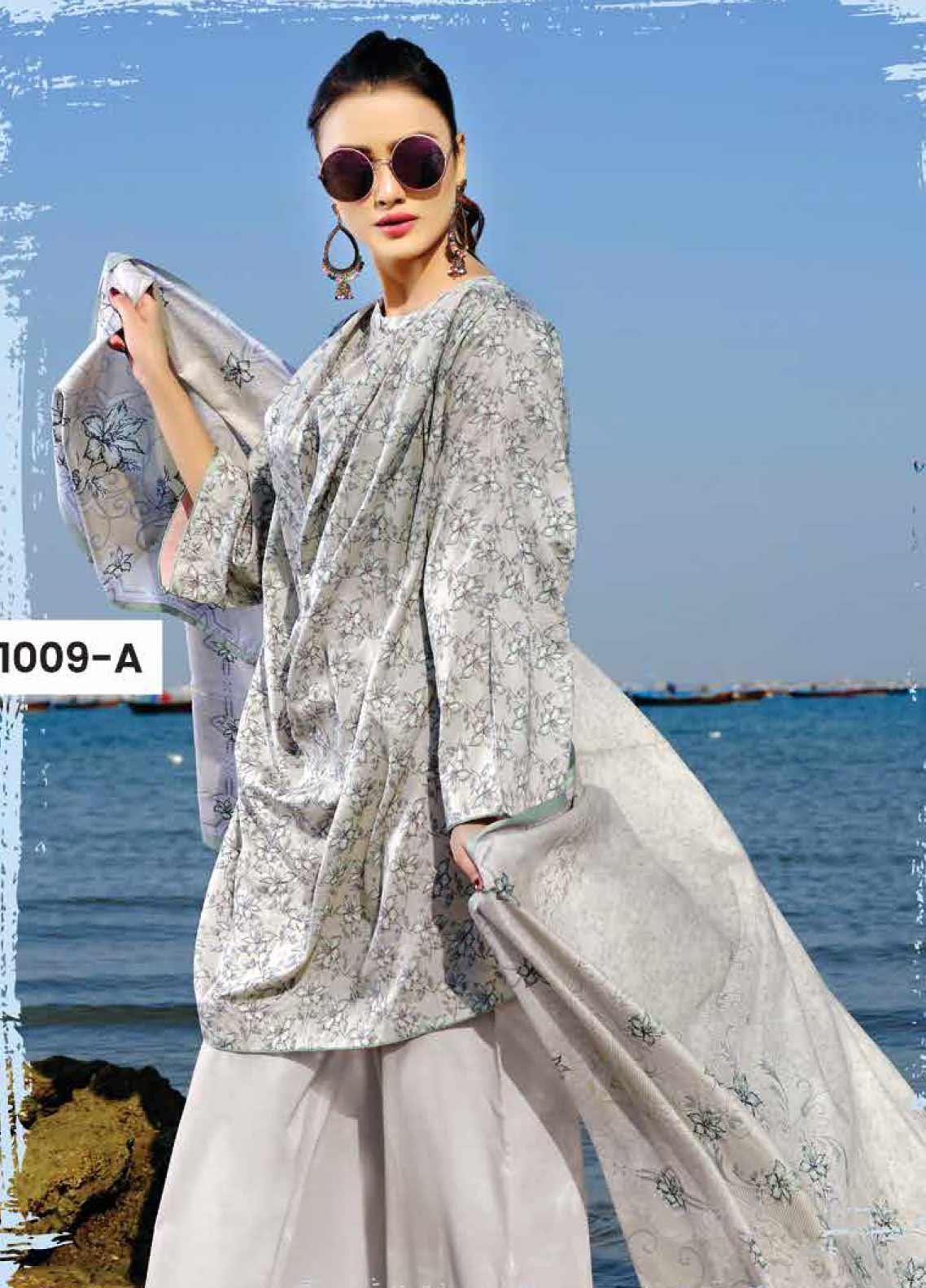 Five Star Printed Lawn Unstitched 3 Piece Suit FS20C 1009A - Spring / Summer Collection