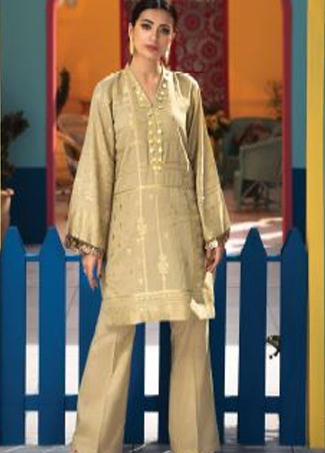 Florent Printed Lawn Unstitched 2 Piece Suit F20SV 17 - Summer Collection