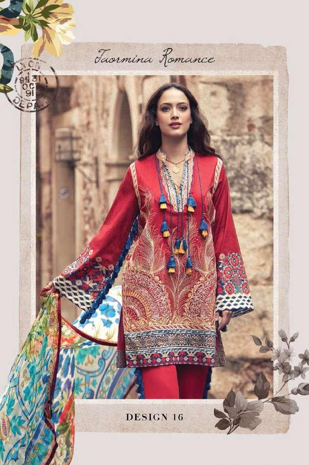 Faraz Manan Embroidered Lawn Unstitched 3 Piece Suit FM17L 16