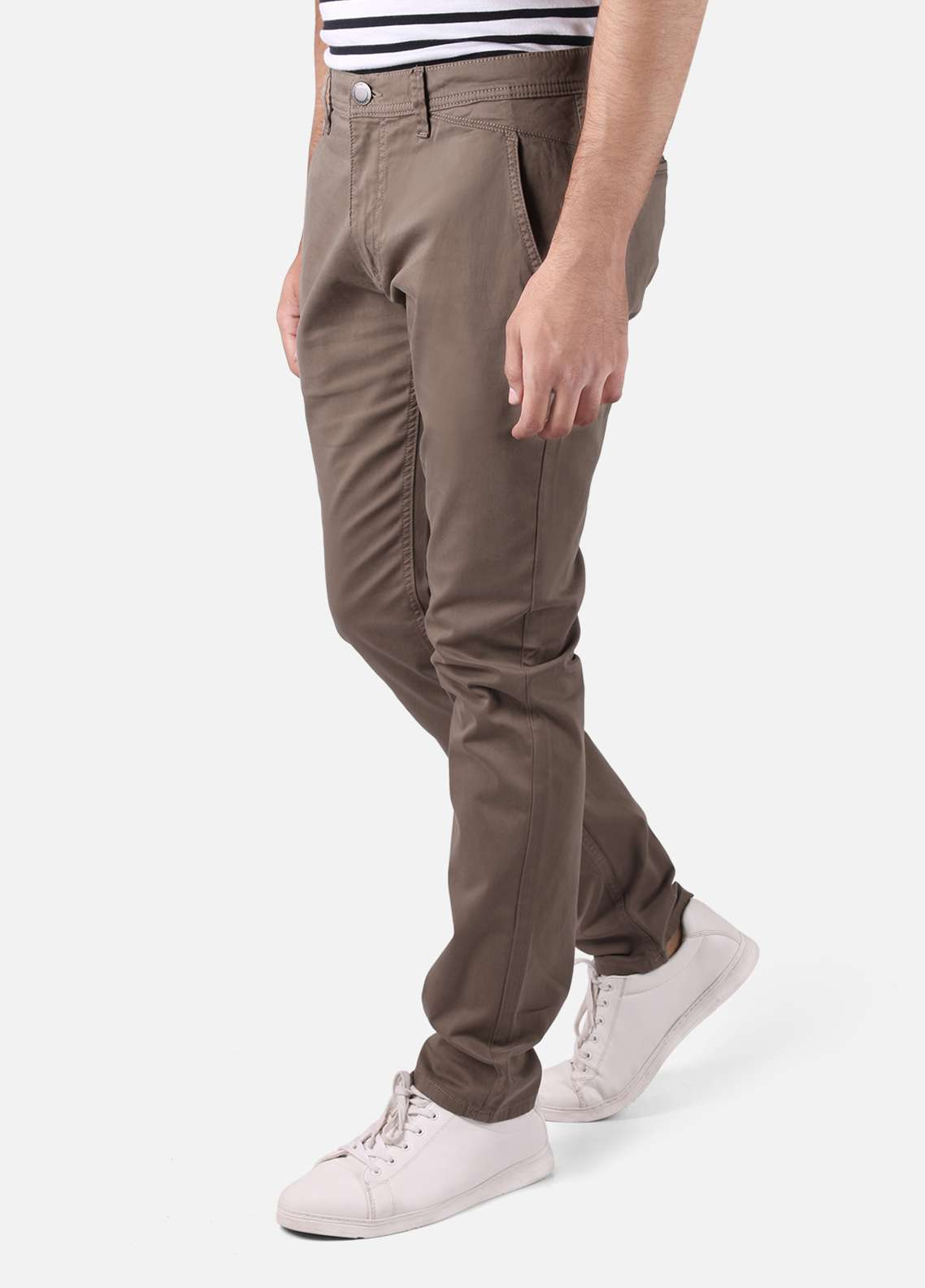 Furor  Chino Men Pants - Olive FRM18C FMBCP18-009