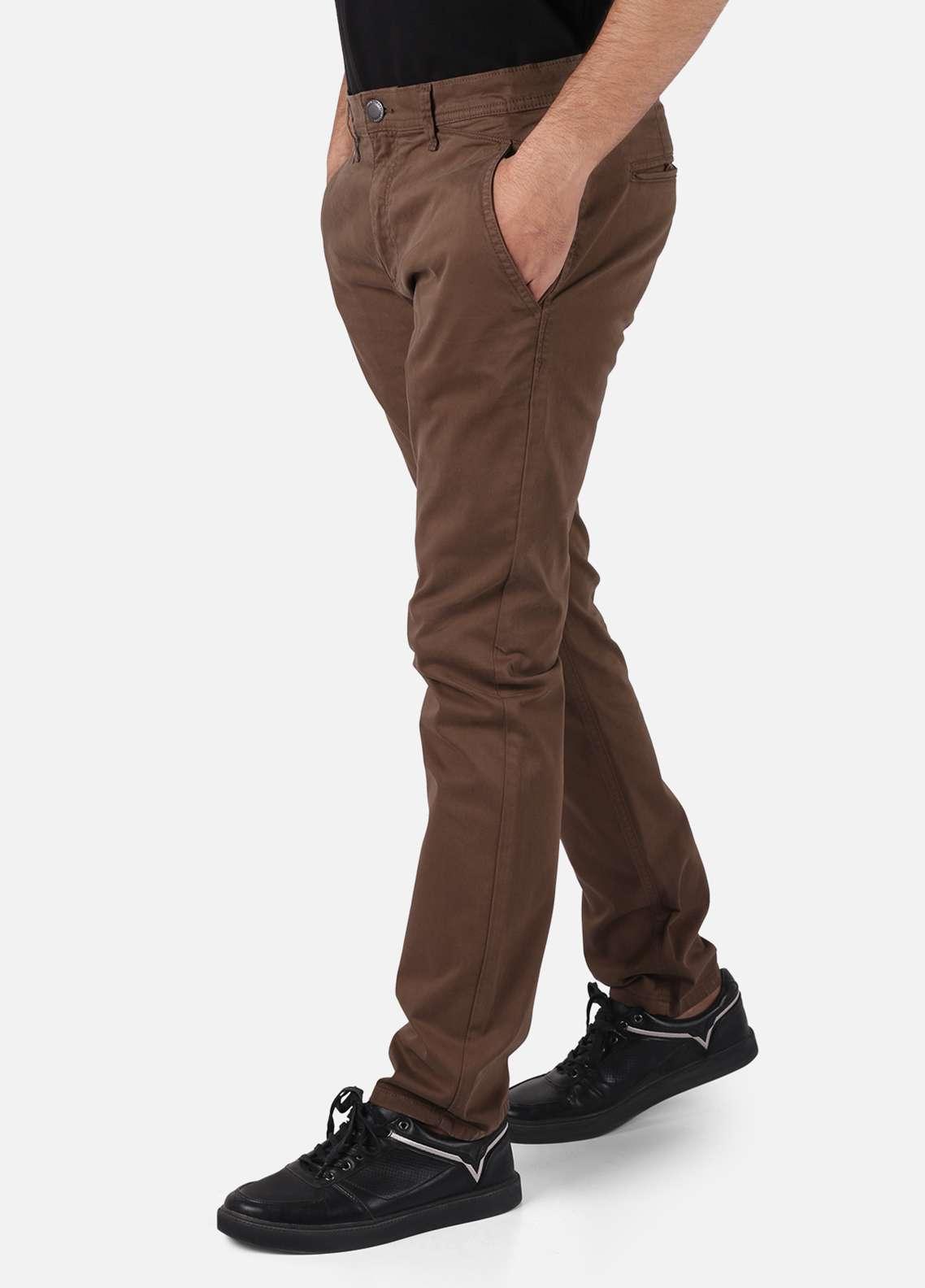 Furor  Chino Men Pants - Brown FRM18C FMBCP18-011