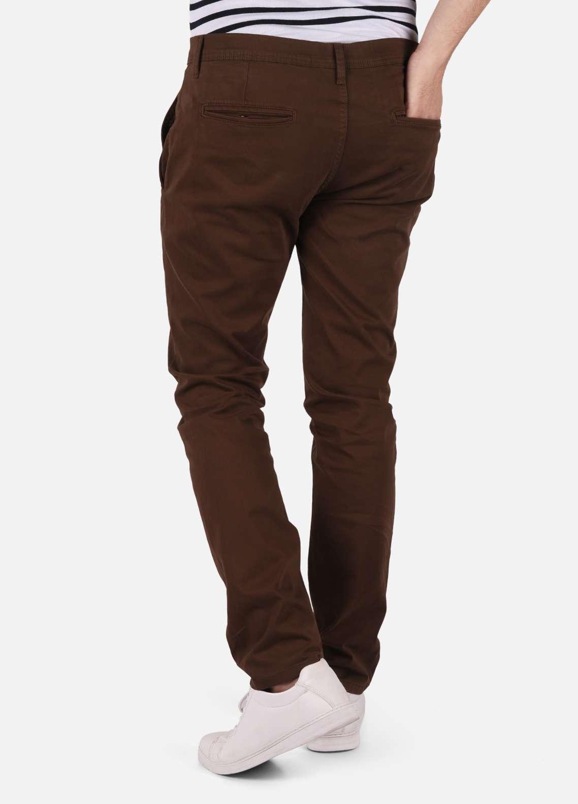 Furor  Chino Pants for Men - Brown FRM18C FMBCP18-012
