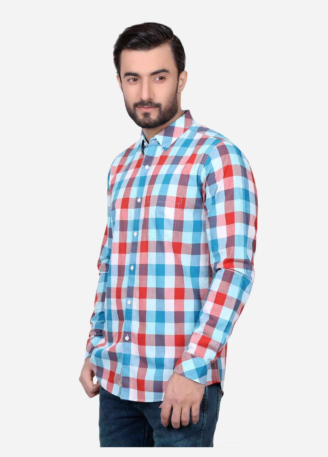 Furor  Casual Men Shirts - Multi FRM18CS 31137